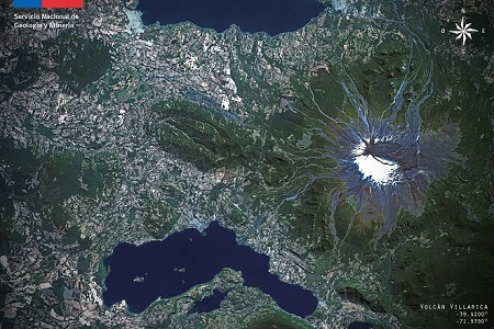 Intendente Montecinos llama a la calma tras declaración de alerta amarilla por aumento de actividad en Volcán Villarrica