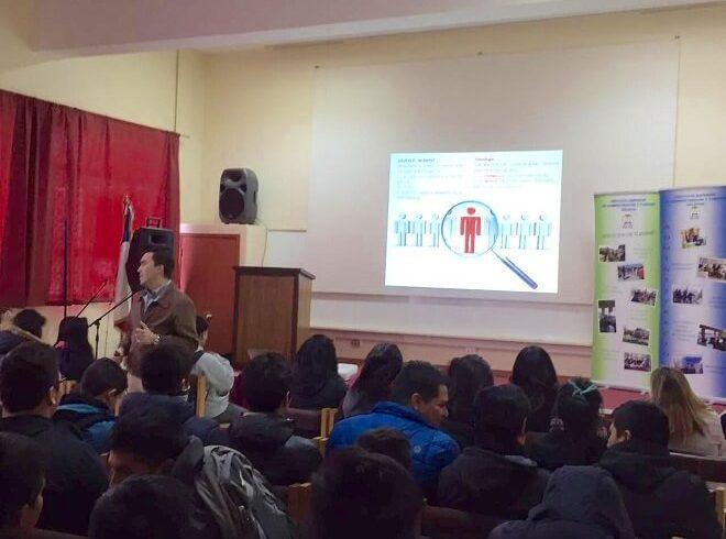 Actividad Educativa de desarrollo personal para Adolescentes en Instituto Superior de Administración y Turismo