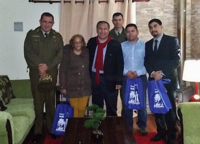 Intendente Montecinos y Carabineros realizaron operativo preventivo en Altos de Guacamayo