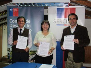 En el marco del Plan Piloto de Descentralización, Sercotec firmó histórico convenio de colaboración técnica con el Comité de Desarrollo Productivo