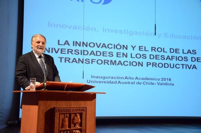 La innovación y la reforma a la educación superior marcaron el inicio del Año Académico en la Universidad Austral de Chile