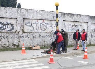 Invierten más de $ 85 millones en mejorar seguridad peatonal en Valdivia