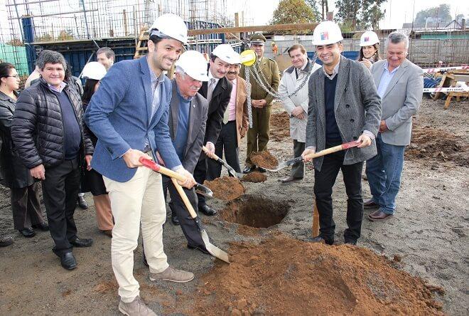 Ya está en marcha construcción de la esperada biblioteca municipal de Máfil