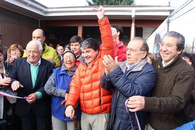 Vecinos de Villa don Max inauguran nueva sede social