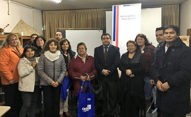 Agrupaciones de red de voluntariado de Los Ríos participaron en encuentro con seremi de Gobierno