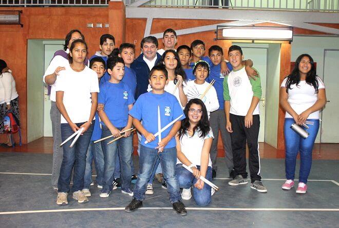 alumnos de Escuelas Las Animas (1)