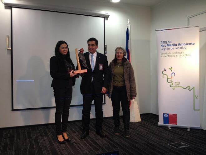 Brigada de la PDI recibe premio a la Gestión Ambiental