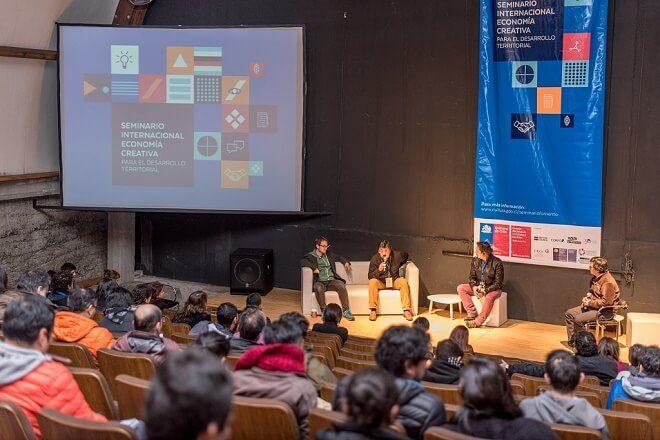 Con enfoque en el desarrollo territorial con identidad se realizó seminario de economía creativa en Valdivia