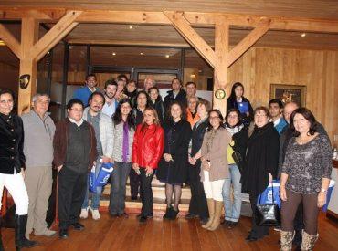 Gestora de Mundo José Cuervo ofreció una charla a empresarios de la Provincia del Ranco