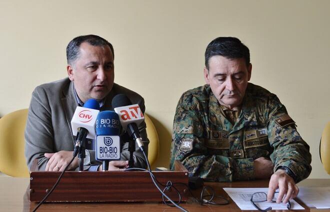 Intendente Montecinos y general del Ejército informaron desarrollo del proceso eleccionario en la región