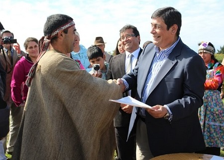 Ministerio de Bienes Nacionales ha entregado más de 49 mil hectáreas a los Pueblos Indígenas de Chile durante Gobierno de la Presidenta Bachelet