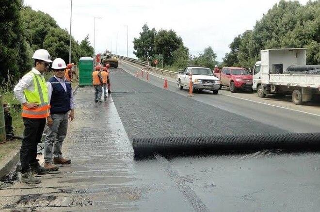 MOP adjudicó reposición de asfalto en tramode Ruta Valdivia-Niebla