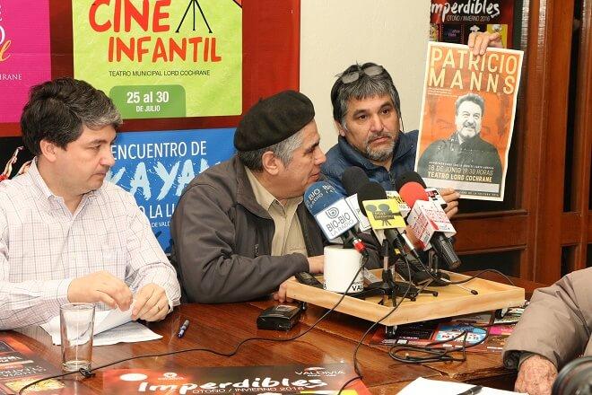 Patricio Manns se presentará en Valdivia