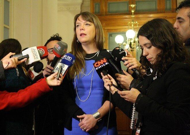 Senadora Von Baer analizó junto a Chile Vamos propuesta del Gobierno para proyecto de elección de intendentes