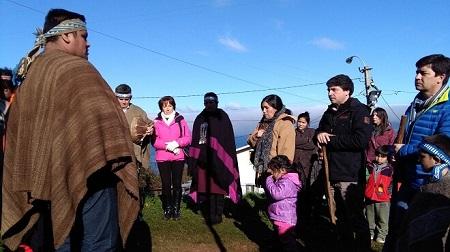 Con We Tripantu en Escuela Rural de Los Molinos establecimientos municipales iniciaron celebraciones del Año Nuevo Mapuche
