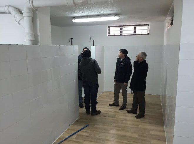 Ultiman Trabajos en Coliseo para Premundial de Básquetbol de Valdivia