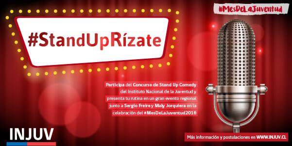 Concurso #StandUpRízate: Jóvenes humoristas podrán compartir escenario con ex integrantes del Club de la Comedia