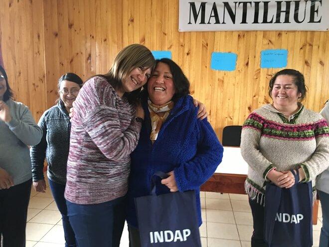Catalina Hott destacó aporte de las familias campesinas para el desarrollo productivo de sectores rurales de Río Bueno