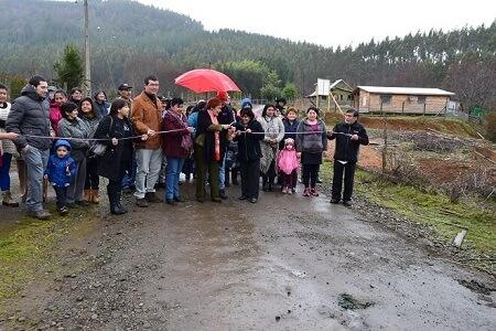 Familias de Llancacura inauguraron proyecto de riego asociativo