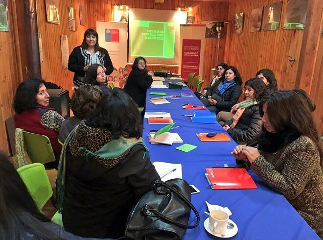 Futroninas iniciaron proceso de formación en Escuela deLiderazgo Femenino 2016