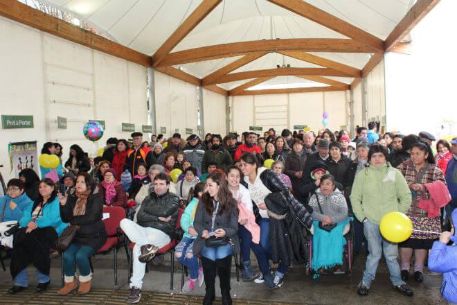 Gran presencia de público acompañó la primera Expo Barrio Comercio La Unión