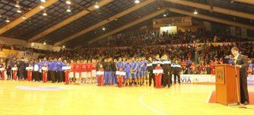Inauguran Campeonato FIBA Américas U18 masculino de Valdivia