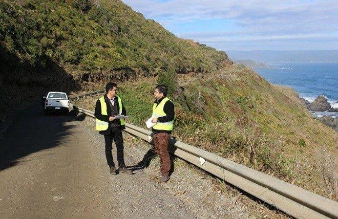 MOP pone en marcha tres proyectos que mejorarán la ruta hacia la costa valdiviana
