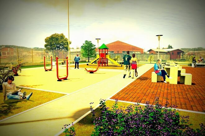 Municipio Valdiviano presenta proyecto de nueva plaza a vecinos de Villa Padre Hurtado