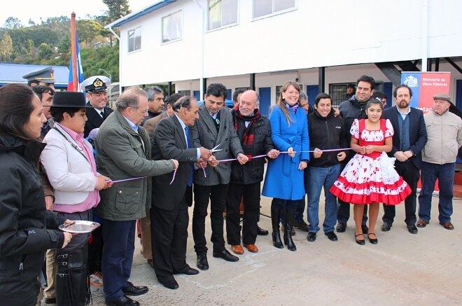 Pescadores artesanales de Corral Bajo inauguraronsu nueva caleta