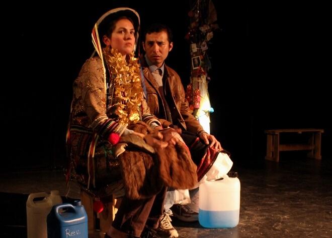"""Lluvia de Teatro en Valdivia exhibe """"Limítrofe, la pastora del sol"""", la obra donde la realidad supera la ficción"""
