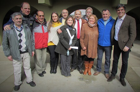Aldo Pinuer fue presentado como candidato a alcalde de Chile Vamos en La Unión