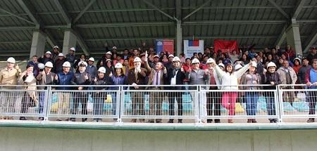Candidato Leonel Vera destacó inauguración de Estadio El Boldo en Corral