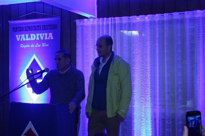 DC proclama a Marcos Ilabaca como su candidato a la alcaldía en Valdivia