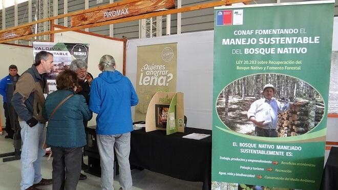 Feria de la leña presentó nuevas propuestas de eficiencia energética