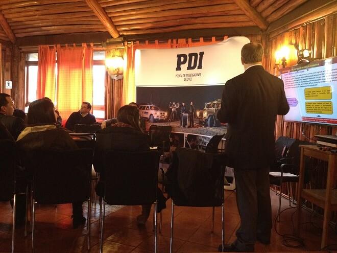Funcionarios de PDI Valdivia reciben capacitación enLey de Agenda Corta Antidelincuencia
