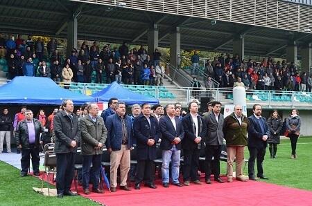 Intendente Montecinos encabezó inauguración de nuevo Estadio El Boldo de Corral