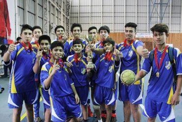 Lanco da la sorpresa en balonmano varones y saca pasajes a la final nacional de los Juegos Deportivos Escolares