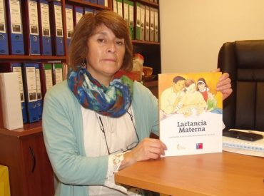 """María Luisa Calfullán, nutricionista de la JUNJI:""""La lactancia materna es fundamental en la relación madre e hijo"""""""
