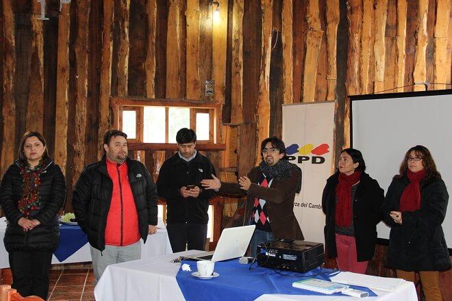 PPD Los Ríos capacita a sus candidatos para las próximas municipales