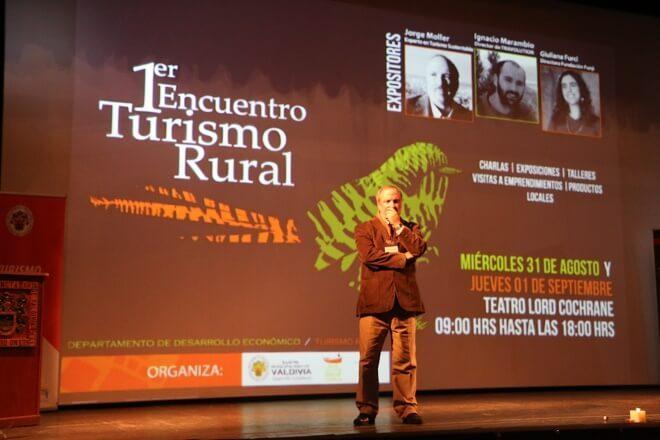 Partió Primer Encuentro de Turismo Rural organizado por la Municipalidad de Valdivia
