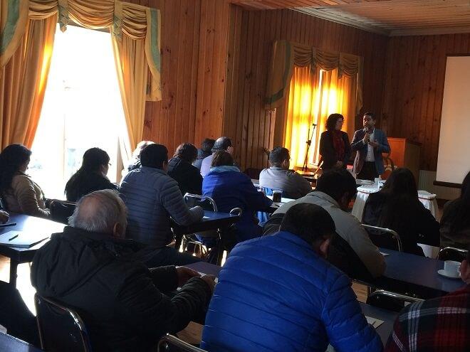 ProChile realizó en Valdivia taller sobre exportación de productos del mar