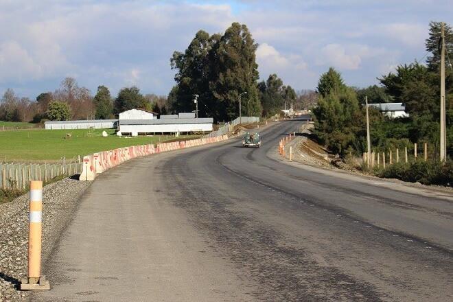 Mejoramientos de Rutas 202 Valdivia-Mariquina y Cabo Blanco-Las Marías están en su etapa final de ejecución