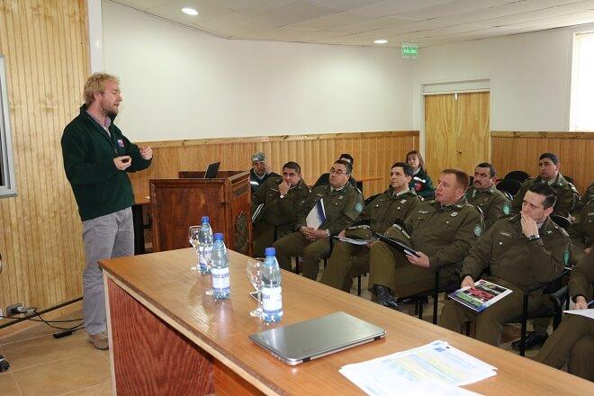 SAG fomenta trabajo junto a efectivos de Carabineros en Los Ríos