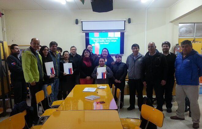 Seremi de Transportes presentó proyecto de Seguridad Vial a comunidad escolar de Niebla