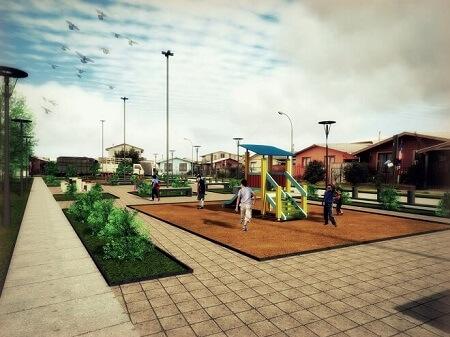 Vecinos del sector Autoconstrucción conocieron diseño de su futura plaza