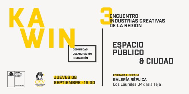 3er Encuentro Multidisciplinario KAWIN conversará sobre Espacio Público y Ciudad
