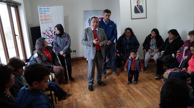 Autoridades de Los Ríos despiden viaje del programa Turismo Familiar a Mariquina