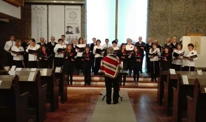 Coro de la jurisdicción de Valdivia participa de Concierto de Fiestas Patrias