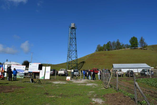 Familias de Pueblo Hundido inauguran proyecto de riego asociativo