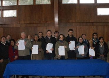Firman Plan de Desarrollo Territorial por 6 mil millones de pesos para Isla Huapi